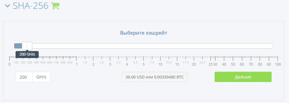 калькулятор доходности hashflare